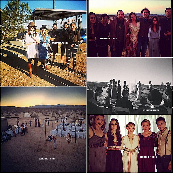 Découvrez des nouvelles photos de Troian posté sur Instagram et sur Twitter