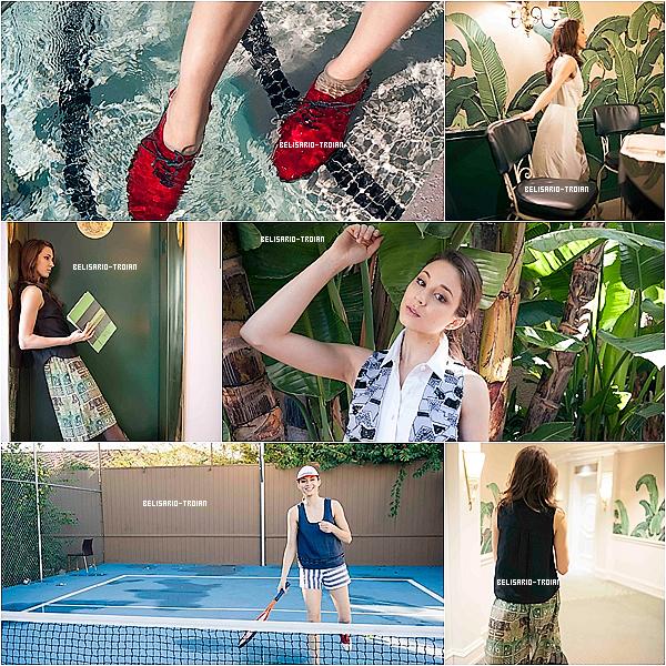 Découvrez des nouvelles photos d'un ancien shoot de Troian réaliser en 2012 par Rachel Antonoff !