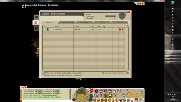 Une nouvelle guilde pour un nouveau serveur =)