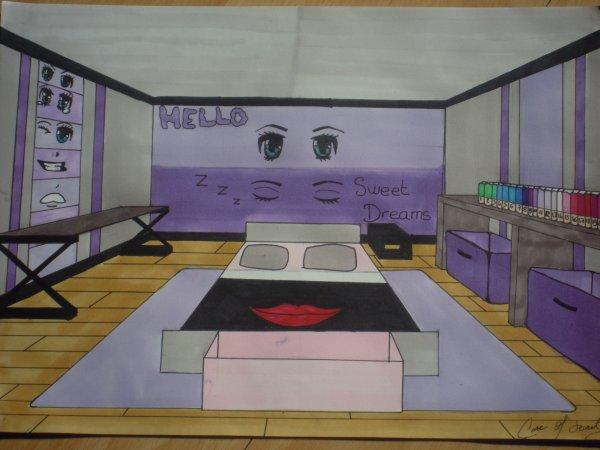 La chambre de mes r ves blog d 39 une otaku fan de culture for Chambre otaku