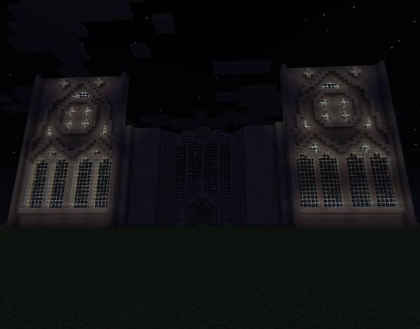 La suite de ma cathédrale :3
