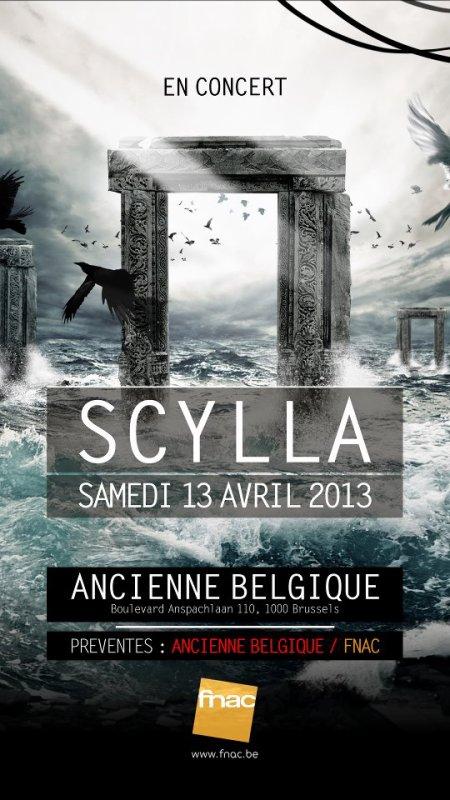 CONCERT LE 13 AVRIL 2013 A L'ANCIENNE BELGIQUE