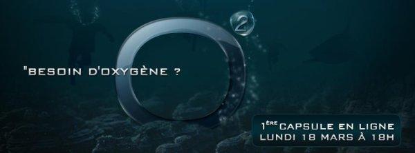 BESOIN D'OXYGENE ? RDV LUNDI 18 MARS A 18H POUR LA MISE EN LIGNE DE LA 1ERE CAPSULE ! Design by Nicolas Caboche