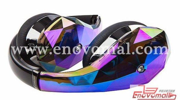 Diamant Tears Mic avec entretien de commande Bandeau casque 4 couleurs Pures écouteurs de studio de musique