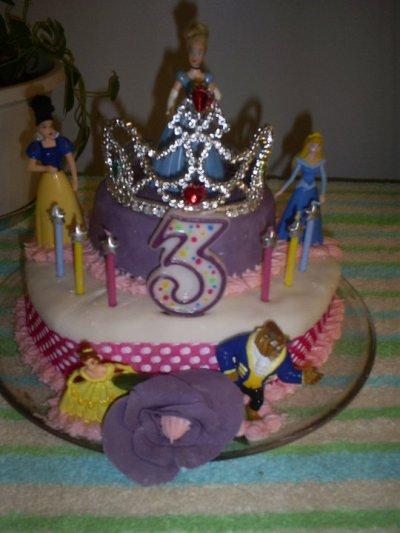 Gâteau de fête de ma nièce