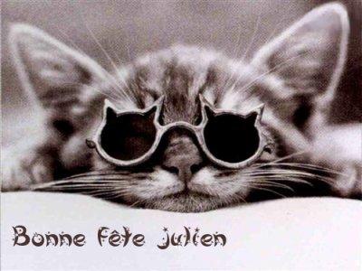 Carte Bonne Fete Julien.319 Bonne Fete Julien Blog De La Famille Drouet