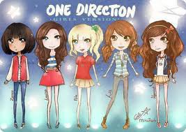 les one direction fille