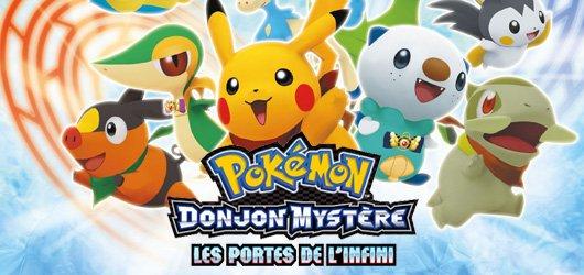 Pokemon donjon myst re les portes de l 39 infini - Donjon mystere les portes de l infini ...