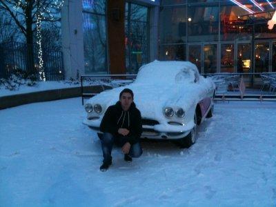 Moi sous la neige :P
