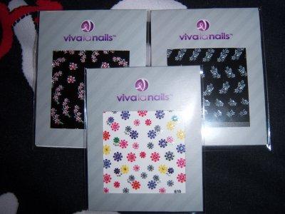 Mes échantillons VivaLaNails !!