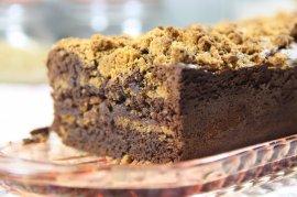 Cake au chocolat et spéculoos