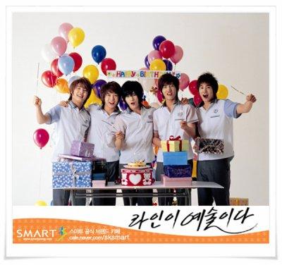 sé kan votre anniversaire come sa lé dbsk viendron a vos anniversaires XDXD