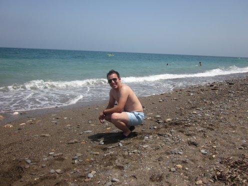 moi a la plage c'est t trop bien