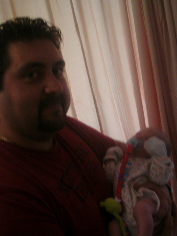mon bebe et mon petit neveux