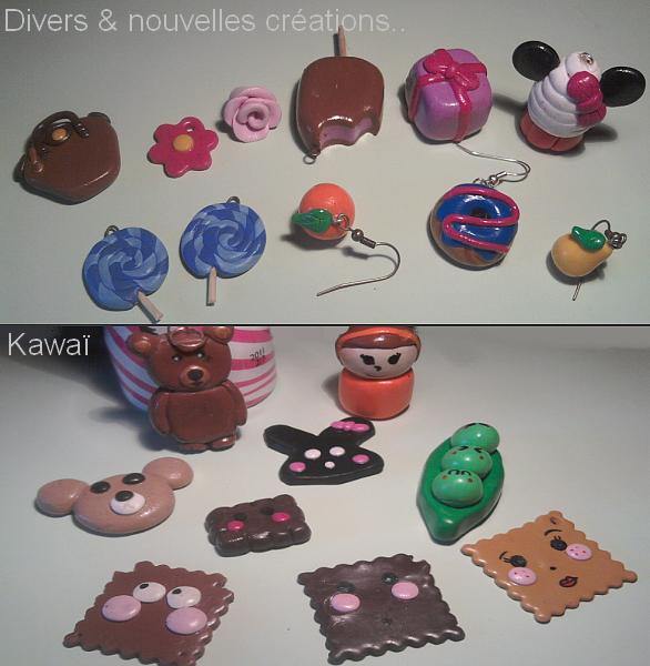 Création Divers / Nouvelles créations & Kawaï.