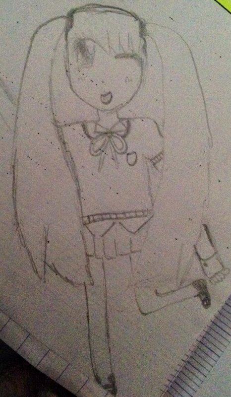 1er dessin de ce blog !!!! (De moi)