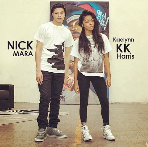 Nick Mara and Kaelynn Haris