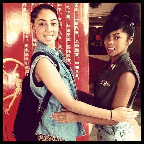 Jaira and Kay Kay
