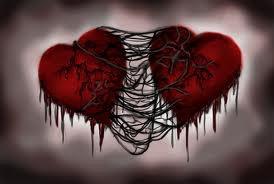 Le coeur déchirer en deux