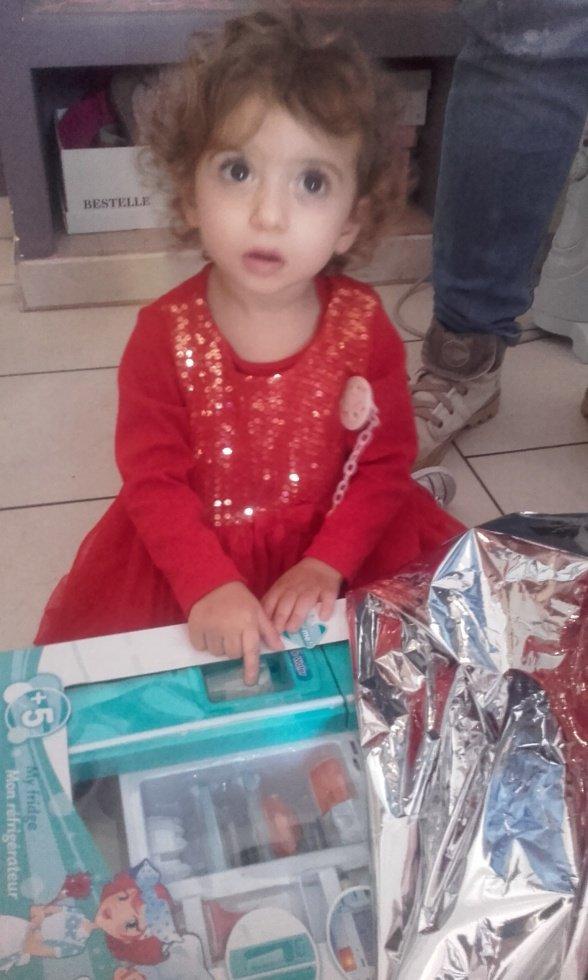 L anniversaire de ma fille