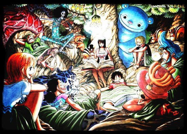 Serie d'image One piece : En groupe.