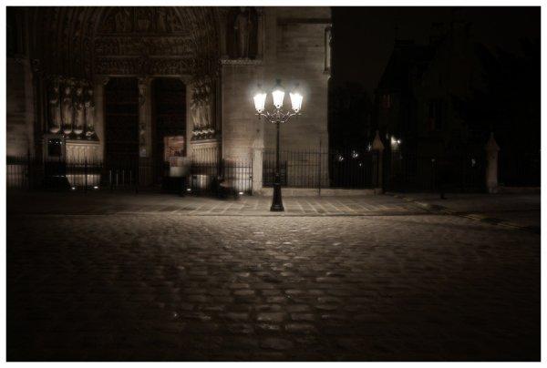Rue Nuit Lampadaire Cinemaniacannes