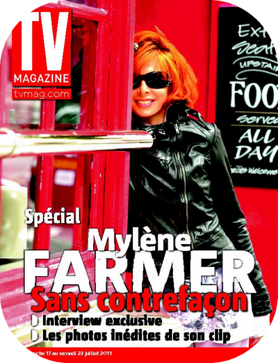 Mylene Farmer: Interview TV Magazine