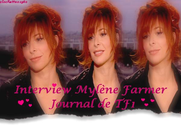 Interview : JT de 20h TF1