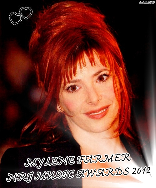 Mylene bien présente au Nrj Music Awards  2012