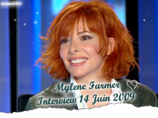 Mylene : Interview JT 20h France 2