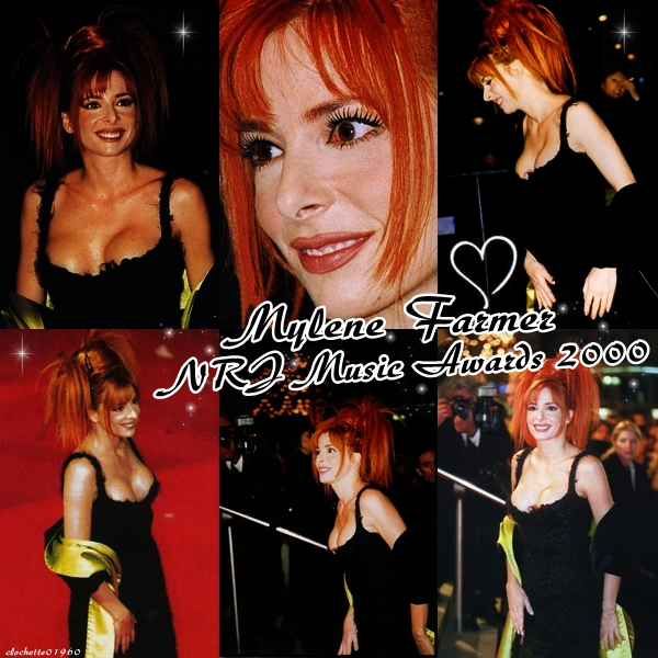 Mylene Farmer Nrj Music Awards 2000