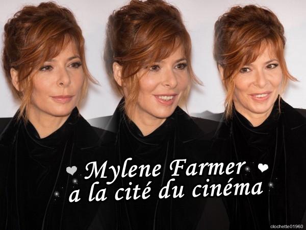 Mylene à la Cité du Cinéma
