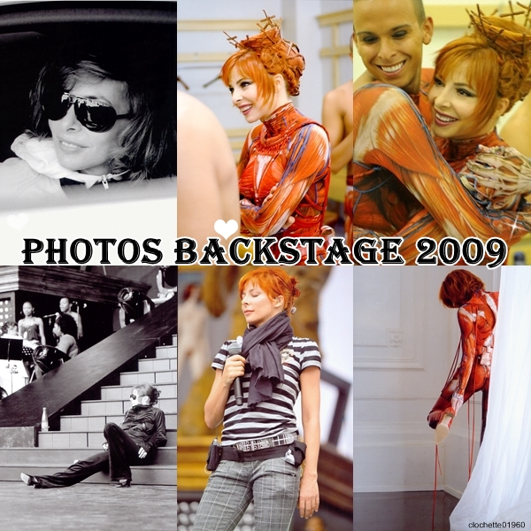 Photoshoots 2009 : Backstage