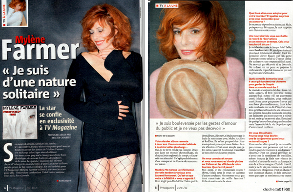 Mylene Farmer : Interview Tv Magasine