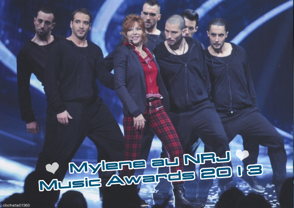 Mylène au NRJ Music Awards 2013