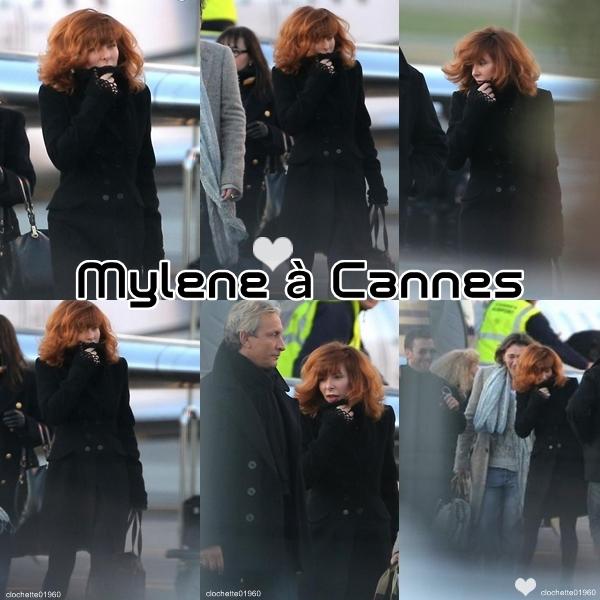L'arrivée de Mylene en Jet Privé à Cannes-Mandelieu
