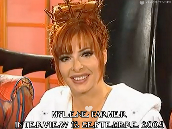 Interview Mylene Farmer : 12 Septembre 2009 + Photos Mylene aux Etats-Unis