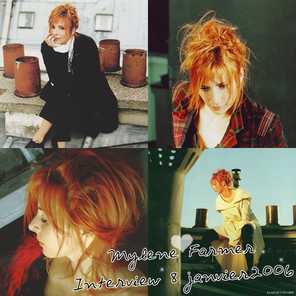 Interview : Mylene Farmer 8 Janvier 2006