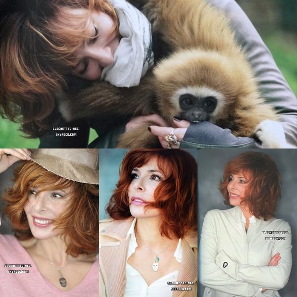 Nouveau shoot de Mylene par Nathalie Delépine et John Nollet