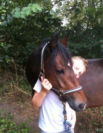 Le beau Trégor et son petit cavalier !!!