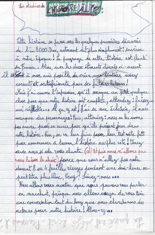 """""""Les carnets de Péjounai"""" - """"Les studios de l'histoire à P.G"""" (Tremblez, Mister P.G 2009)"""