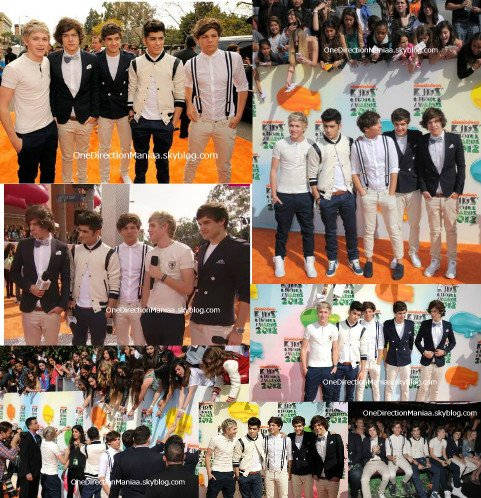 One Direction au KCA 2012