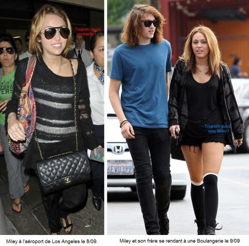 Déclaration de Miley sur ses soucis de confiance & Nick de mauvaise humeur.
