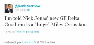 Niley news : Gypsy Heart Tour - Mois de MAI