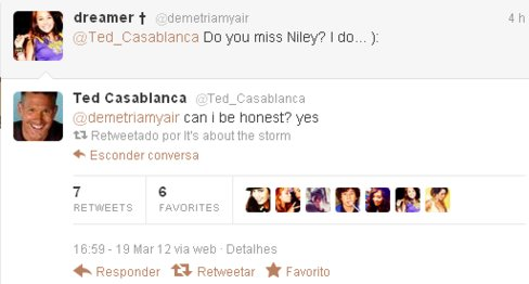 Des Niley Moments sur Twitter !