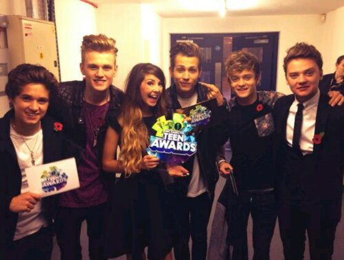The Vamps aux BBC Radio 1 Teen Awards 2013
