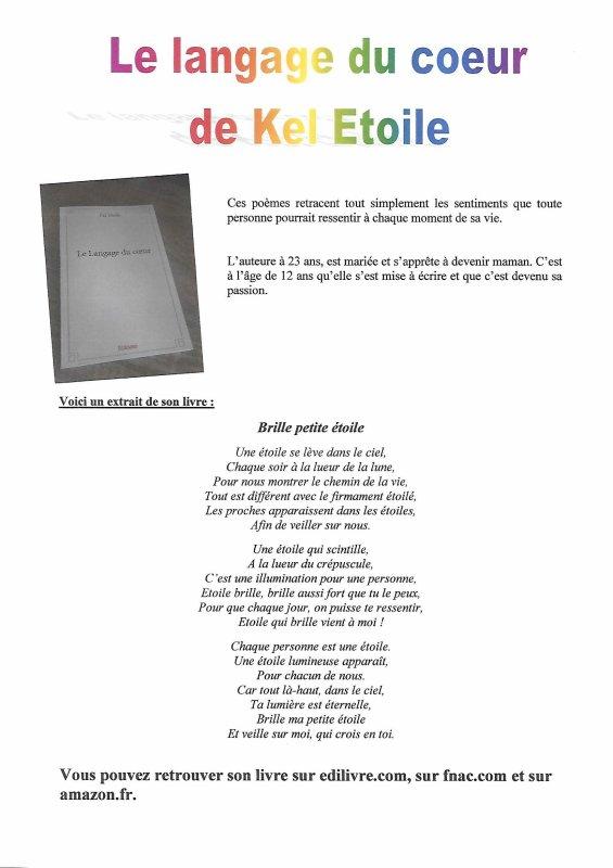 Mon premier recueil de poème