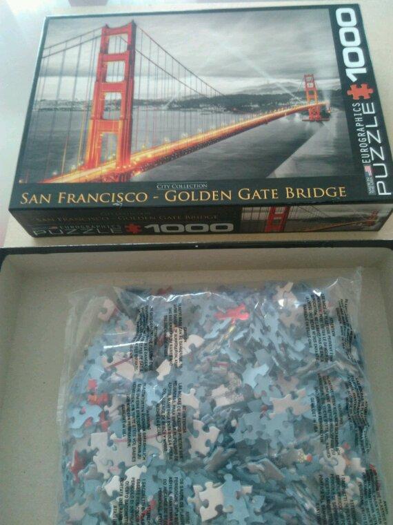 Puzzle - Pont de San Francisco