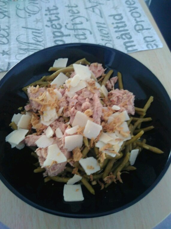 Salade bien garnie