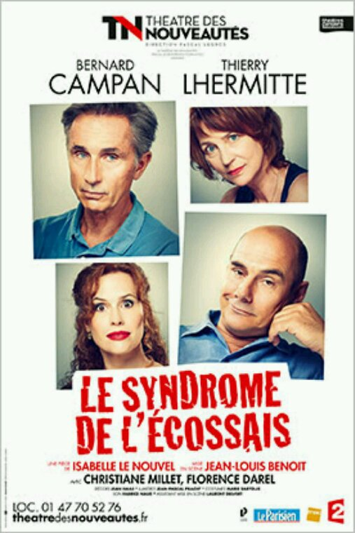 Théâtre - Le syndrome de l'Ecossais